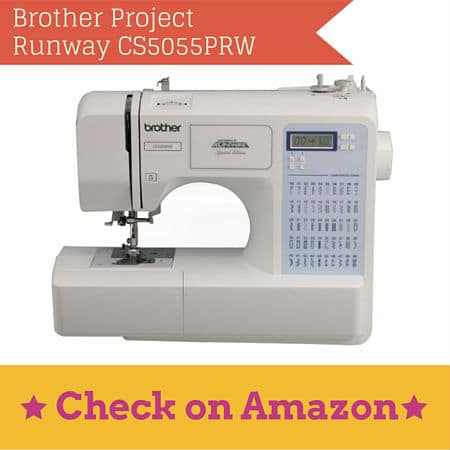 Best Heavy Duty Sewing Machines In 40 For The Dedicated Seamstress Simple Brother Cs5055prw Project Runway Computerized Sewing Machine