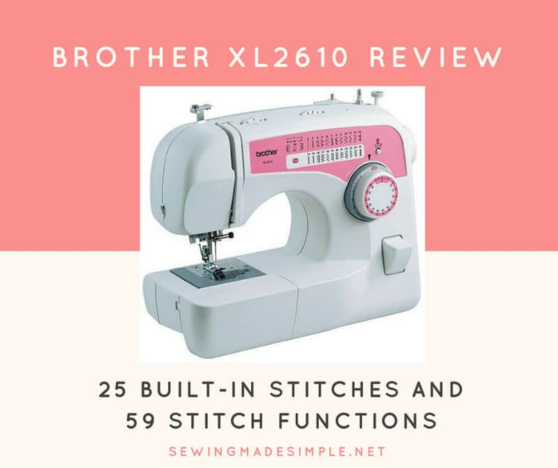 Brother XL2610i Review