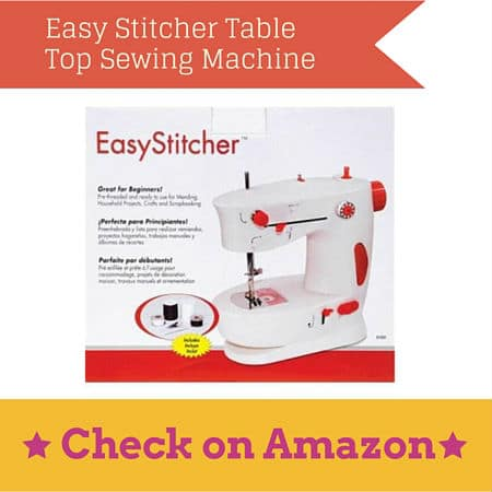 Easy Stitcher Table Top Sewing Machine