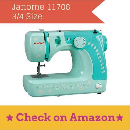 Starting Young Hello Kitty Sewing Machines By Janome Sewing Made New Janome Hello Kitty Sewing Machine
