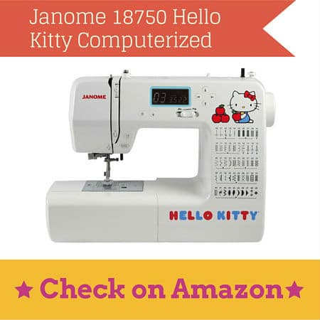 Janome 18750 Hello Kitty Computerized