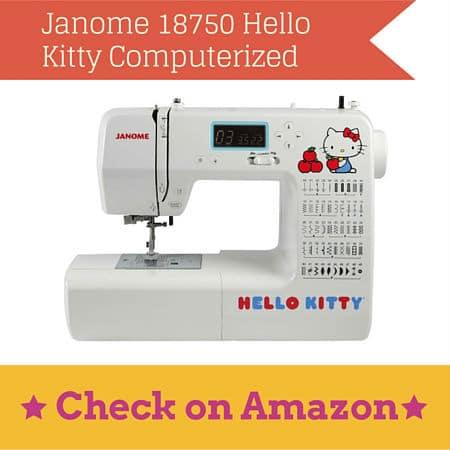 Janome 18750 Hello Kitty Computerized