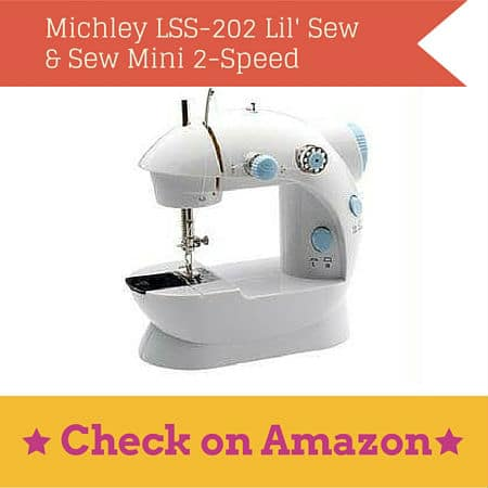 michley lil sew sew mini sewing machine
