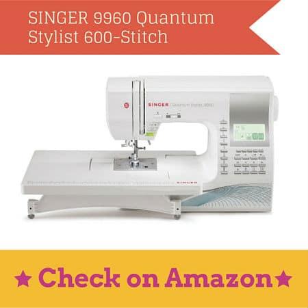 SINGER 9960 Quantum Stylist 600-Stitch