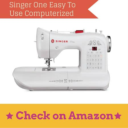 Singer One Easy To Use