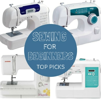 Best Sewing Machines For Beginners-Our TOP PICKS!