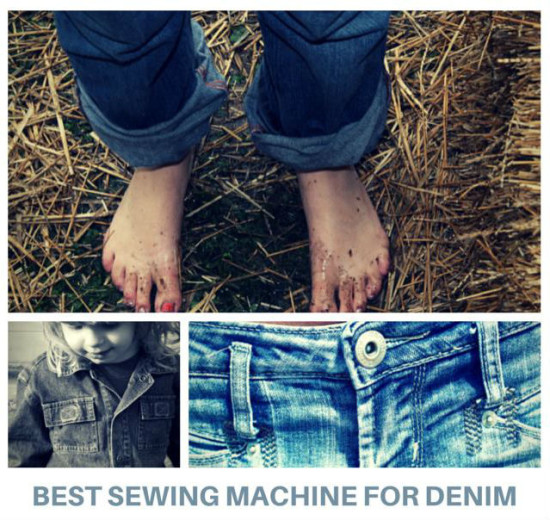 cheapest sewing machine for denim