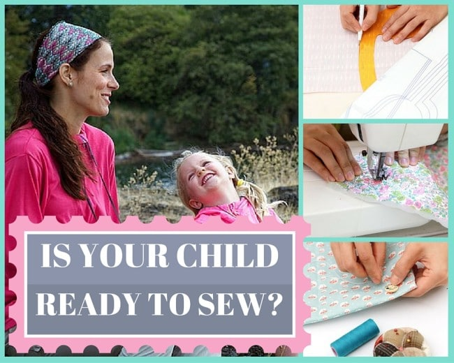 is your child ready to sew