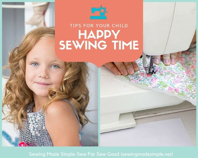 sewing tips for your child