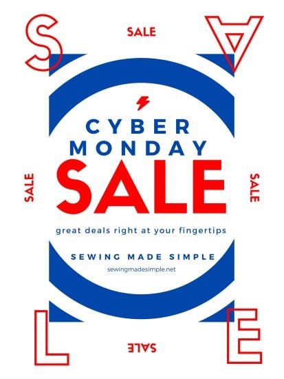 cyber monday sewing machine deals