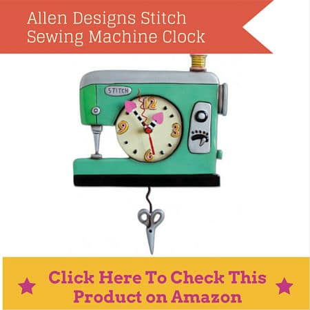 seamstress clock