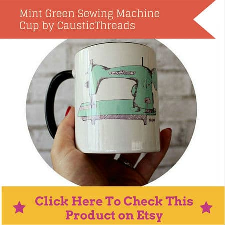 sewing machine cup