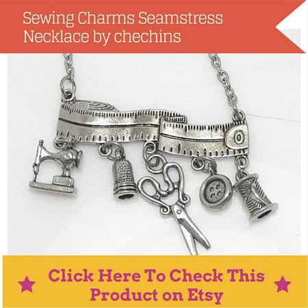 sewing necklace gift