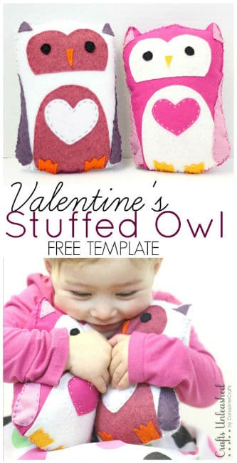 Valentines-Stuffed-Owl-Template-Crafts-Unleashed-513x1000