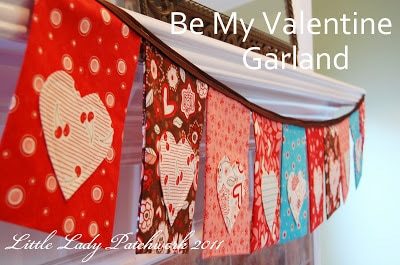 be my valentine garland