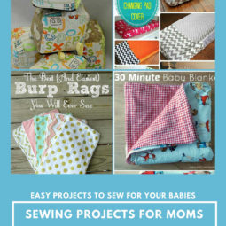 Baby Sewing Projects For New Moms