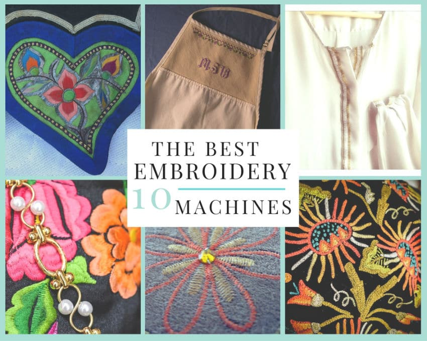 From creating monograms to sewing fleurs-de-lis, you want to have the best  embroidery machine that can do the job. An embroidery machine can let you  make a ...