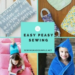 Easy Peasy Sewing Projects for Novice Seamstress