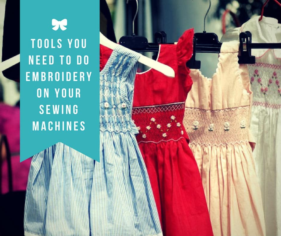 embroidery on your sewing machines