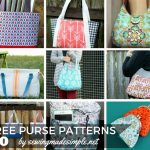 20 Free Purse Patterns for Any Occasion