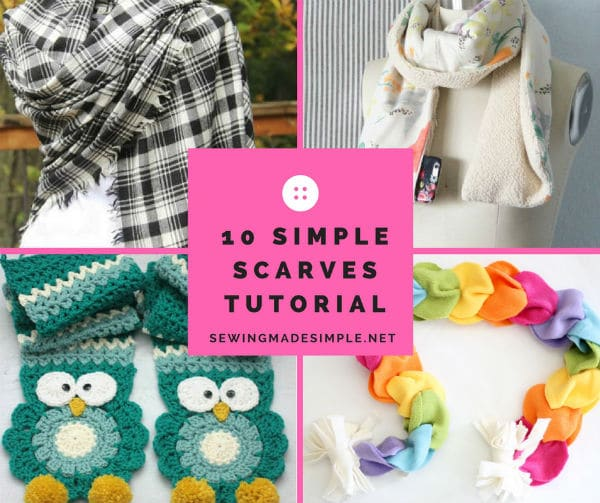 how to make fleece scarves without sewing american hwy