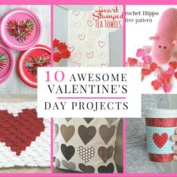 Sewing With Love: 10 Awesome Valentine's Day Craft Tutorials