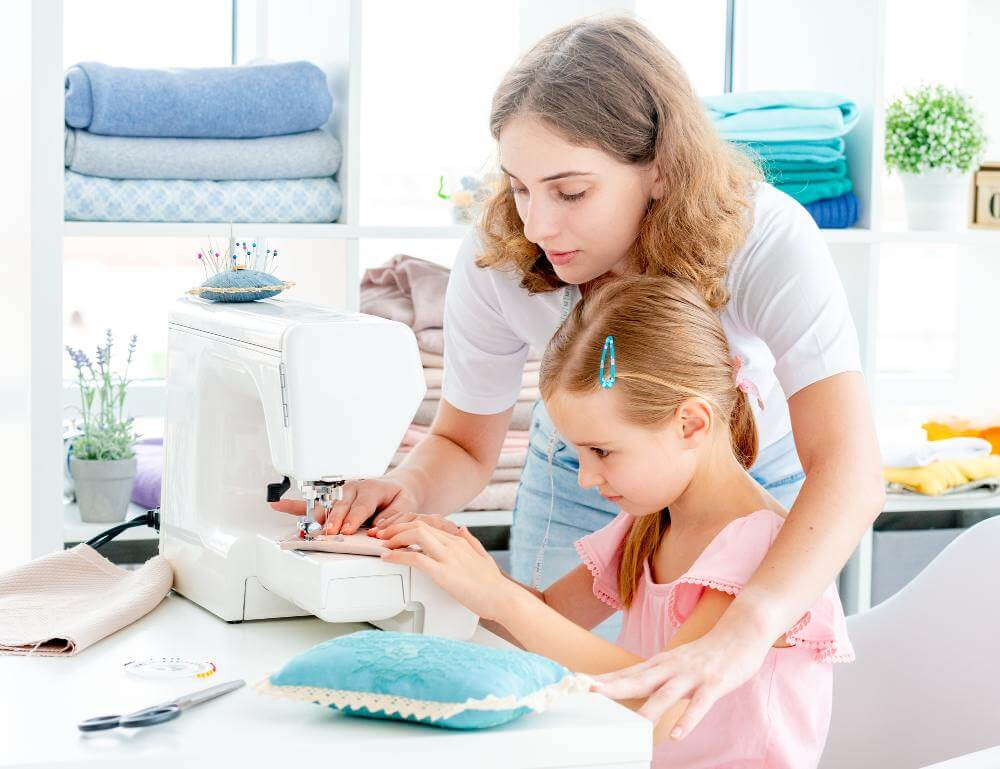 At What Age Can a Child Use a Sewing Machine