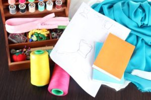 kids sewing books