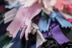pastel zippers